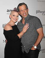 NEW YORK, NY - JUNE 21: Kelly Osbourne and Kenneth Cole attend amfAR generationCURE 5th Annual SOLSTICE event in New York, New York on June 21, 2016.  Photo Credit: Rainmaker Photo/MediaPunch