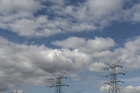 BOGOTÁ-COLOMBIA-28-01-2013.  Torre de conducción de electricidad./ Conducting electricity tower   Photo: VizzorImage/STR.