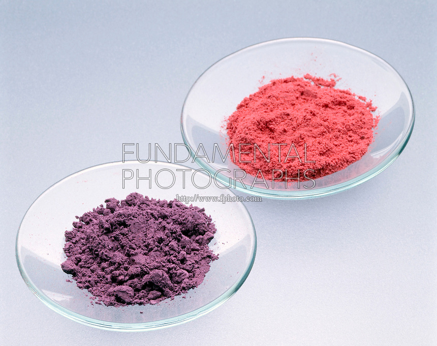 SLOW REACTION OF COMPLEX ION Co(NH3)5Br 2+<br /> Formation Of Pink Co(NH3)5(H2O) 3+<br /> Non-aqueous form of the following slow reaction: In acidic aqueous solution, the purple complex ion, Co(NH3)5Br 2+, undergoes a slow reaction in which the bromide ion is replaced by a water molecule to form pink Co(NH3)5(H2O) 3+.