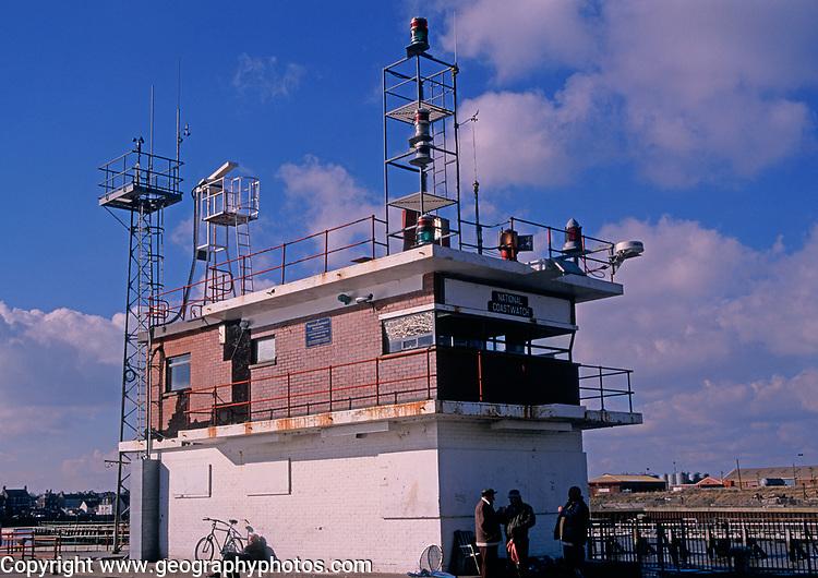 A728PB Coast watch coastguard station Gorleston Norfolk England