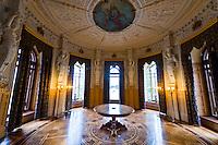 Flower cabinet (Flower room), Schloss Schwerin (castle), Schwerin, Mecklenburg-West Pomerania, Germany
