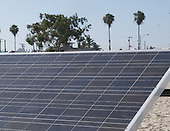 Stock photo solar panel