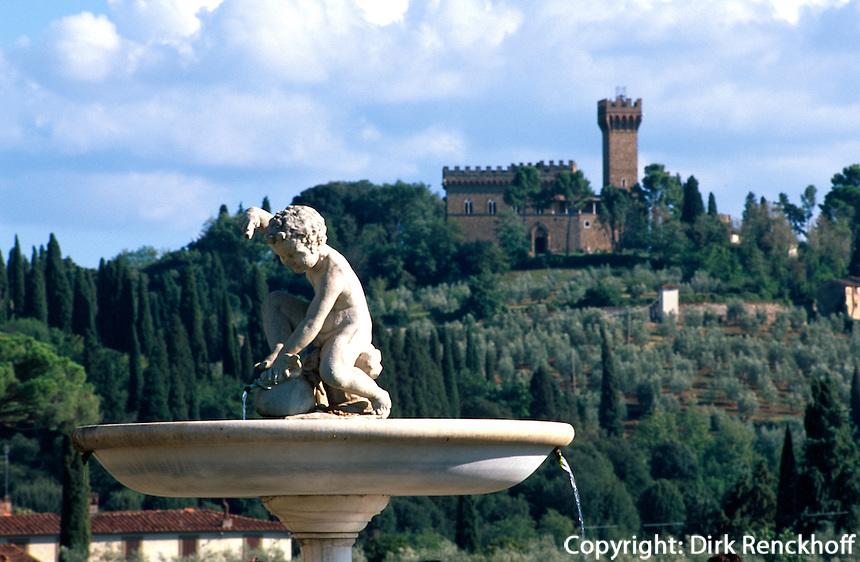 Italien, Toskana, Florenz, Forte di Belvedere