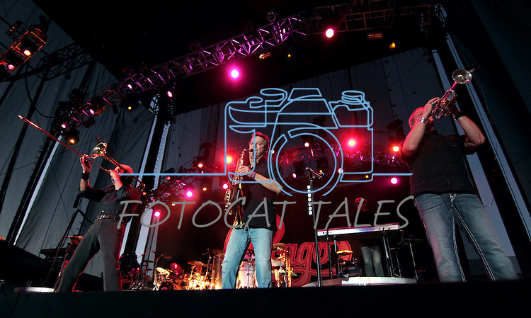 Chicago and the Doobie Brothers perform at the Harveys Lake Tahoe Outdoor Arena on Friday, July 13, 2012..Photo by Cathleen Allison