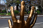Hand in Los Gatos