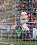 Sevilla FC's Luuk de Jong celebrates after scoring a goal during La Liga match. Mar 07, 2020. (ALTERPHOTOS/Manu R.B.)