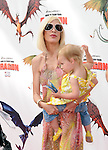 Tori Spelling McDermott & Stella Doreen McDermott at the Dreamwork Pictures' Premiere How to Train Your Dragon held at Gibson Universal in Universal City, California on March 21,2010                                                                   Copyright 2010  DVS / RockinExposures