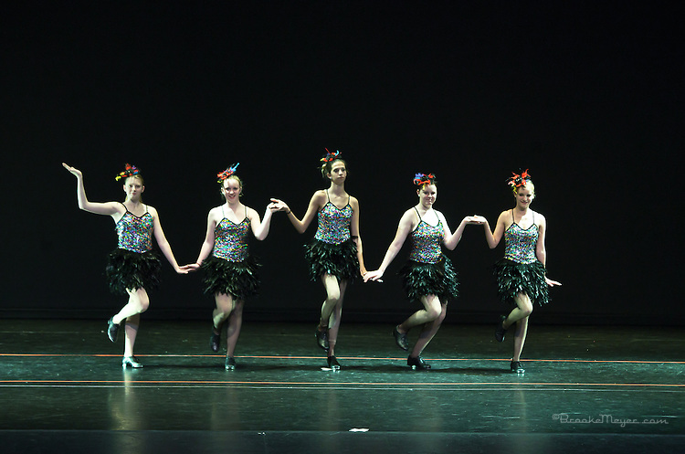 """Dress Rehearsal for """"Stand Up"""", Bravo Academy of Dance Inaugural Recital, June 2013"""