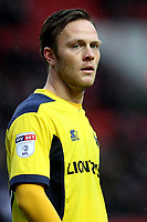 Todd Kane of Oxford United, currently on loan from Chelsea during Charlton Athletic vs Oxford United, Sky Bet EFL League 1 Football at The Valley on 3rd February 2018