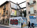 Valencia-Spain, January 13, 2018; <br /> street art / graffiti; <br /> Photo © HorstWagner.eu