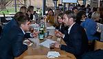 VOGELENZANG - Sander de Wijn met Mirco Pruyser (Ned) Spelerslunch KNHB 2019.   COPYRIGHT KOEN SUYK