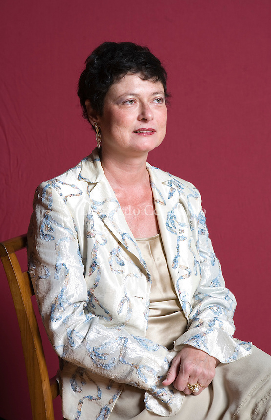Modena, Italy, 2008. Maria Bettetini, writer and Professor of History of Philosophy at the IULM, Milan.
