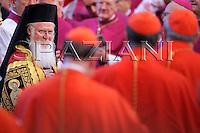 Orthodox Christians, Patriarch Bartholomew I Pope Benedict XVI, .and the leader of the world's Orthodox Christians, Patriarch Bartholomew I, celebrate a ceremony in memory of St. Paul, Holy Mass and imposition of the Pallium on Metropolitan Archbishops