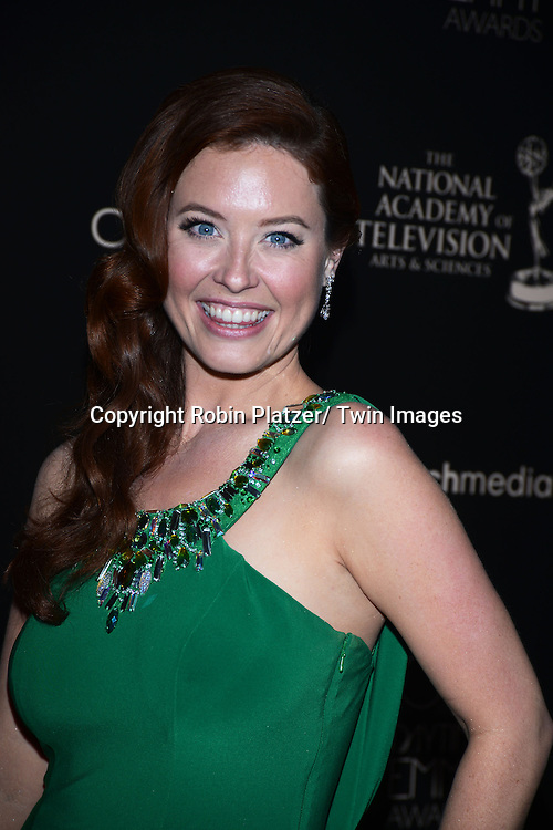 Melissa Archer attends The 40th Annual Daytime Emmy Awards on<br />  June 16, 2013 at the Beverly Hilton Hotel in Beverly Hills, California.