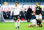 Solna 2015-04-26 Fotboll Allsvenskan AIK - &Ouml;rebro SK :  <br /> &Ouml;rebros Nordin Gerzic deppar under matchen mellan AIK och &Ouml;rebro SK <br /> (Foto: Kenta J&ouml;nsson) Nyckelord:  AIK Gnaget Friends Arena Allsvenskan &Ouml;rebro &Ouml;SK depp besviken besvikelse sorg ledsen deppig nedst&auml;md uppgiven sad disappointment disappointed dejected