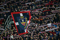 gSupporters during the  italian serie a soccer match,between Crotone and Juventus      at  the Scida   stadium in Crotone  Italy , February 08, 2017