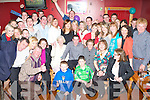 Key to the Door - Tim Claffey from Lerrig, seated centre, having a ball with family and friends at his 21st birthday bash held in McElligot's Bar, Ardfert on Saturday night.   Copyright Kerry's Eye 2008