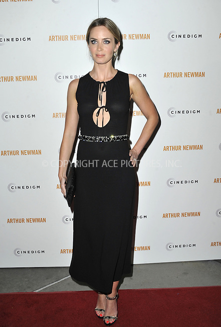 WWW.ACEPIXS.COM....April 18 2013, LA....Emily Blunt arriving at the Los Angeles premiere of 'Arthur Newman' at ArcLight Hollywood on April 18, 2013 in Hollywood, California.......By Line: Peter West/ACE Pictures......ACE Pictures, Inc...tel: 646 769 0430..Email: info@acepixs.com..www.acepixs.com