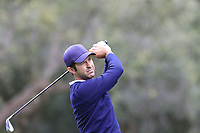 Jorge Campillo (ESP) tees off the 11th tee during Saturday's storm delayed Round 2 of the Andalucia Valderrama Masters 2018 hosted by the Sergio Foundation, held at Real Golf de Valderrama, Sotogrande, San Roque, Spain. 20th October 2018.<br /> Picture: Eoin Clarke | Golffile<br /> <br /> <br /> All photos usage must carry mandatory copyright credit (&copy; Golffile | Eoin Clarke)