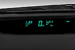 Instrument panel close up detail view of a 2008 toyota prius touring