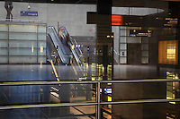Concourse of the train station or Bahnhof at Potsdamer Platz, Berlin, Germany. Picture by Manuel Cohen