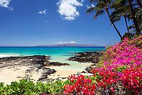 A beautiful day at Secret Beach, Makena, Maui.