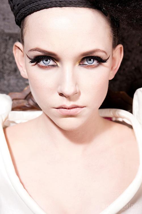 Photographey: Angela Halpin. Producer/Director Jason Foran. Model:Kirsten Haugh - Top Model Uk Finalist.Make-up: Nadia Macari.Hair: Sabrina Bermingham.www.jangproductions.net