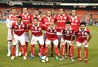 Toluca FC. Starting Eleven. Toluca FC defeated DC United 3-1 in the Concacaf Champions League tournament,at RFK Stadium Wednesday, August 26  2009.
