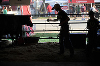 NWA Democrat-Gazette/ANDY SHUPE<br /> Children practice with ropes Thursday, Sept. 3, 2015, during the Washington County Fair at the county fairgrounds in Fayetteville.