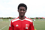 10 January 2016: Hadji Barry (UCF). The adidas 2016 MLS Player Combine was held on the cricket oval at Central Broward Regional Park in Lauderhill, Florida.