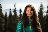 Lyndea Kelleher, UAA's 2018 Spring Student Commencement Speaker.