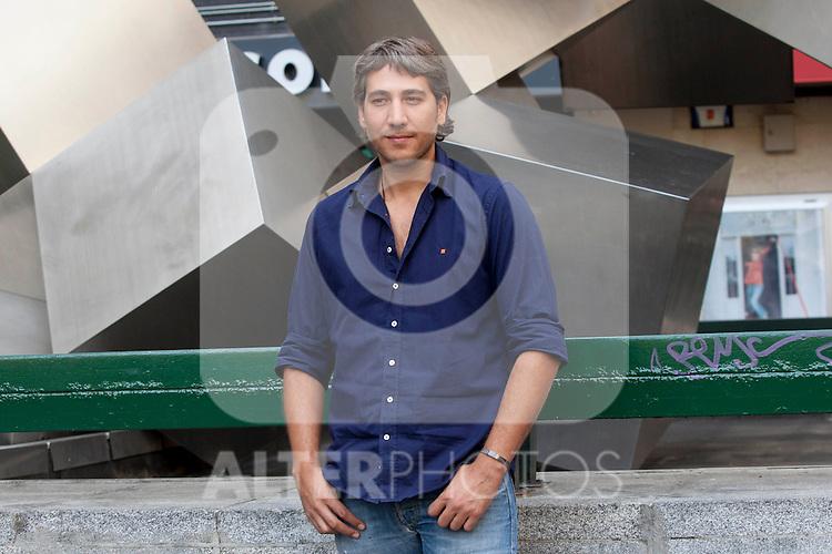 Actors Alberto Ammann present the film 'Betibu' at Cinema Princesa in Madrid. September 09, 2014. (ALTERPHOTOS / Nacho Lopez)