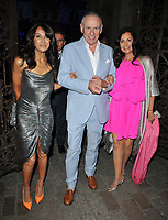 Jackie St Clair, Carl Michaelson and guest at the Royal Academy of Arts Summer Exhibition 2019 preview party, Royal Academy of Arts, Burlington House, Piccadilly, London, England, UK, on Tuesday 04th June 2019.<br /> CAP/CAN<br /> ©CAN/Capital Pictures