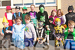 Pupils at Listellick National School came to school dressed as characters from their favourite books to mark World Book day last Thursday. .Back L-R Natalia Szczdrowska, Connall Diggin, Jack O' Hehir, Megan Lynch, Ruairi O'Connell, Muire Kingston, Clodagh Murray and Jack O'Leary .Front L-R Darren Griffin Sophia Neilan, TJ O'Sullivan, Adam Bollo, Liam Og Kingston, Cian Ziglinski and Dan Fisher
