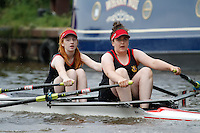 W.J14A.2x  Final  (73) Worcester vs (76) Royal Chester (Cowdell)<br /> <br /> Saturday - Gloucester Regatta 2016<br /> <br /> To purchase this photo, or to see pricing information for Prints and Downloads, click the blue 'Add to Cart' button at the top-right of the page.