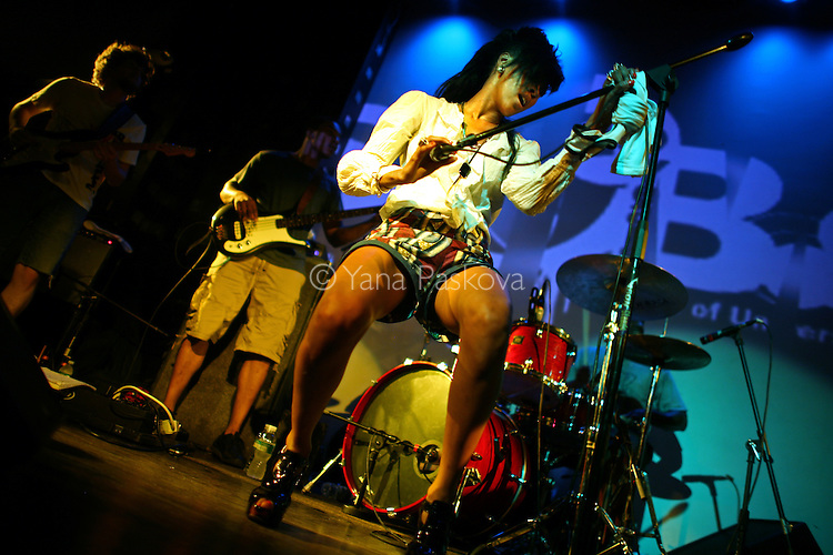 The band J*Davey performs at SOB's on Sunday, June 8, 2008, in Manhattan, New York. (Photograph by Yana Paskova for The New York Times)..Assignment ID: 30063233A
