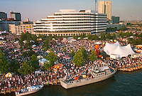 1991 June ..Redevelopment.Downtown South (R-9)..HELICOPTER.LOW ANGLE.HARBORFEST.TOWNE POINT PARK...NEG#.NRHA#..