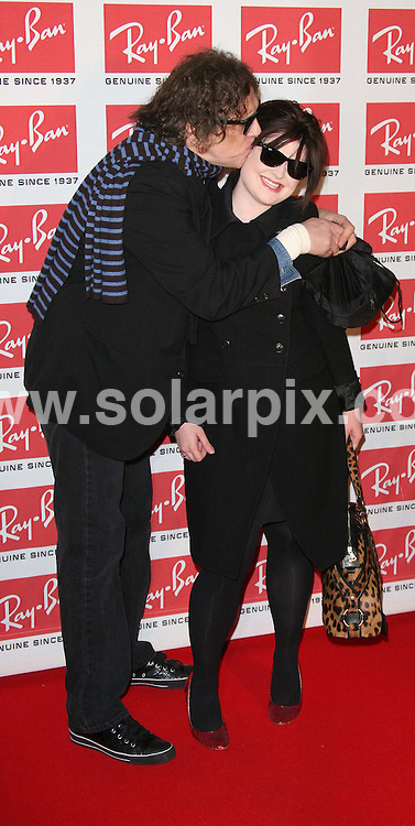 ALL ROUND PICTURES FROM SOLARPIX.COM.Mick Rock and Kelly Osbourne attend the Ray Ban Wayfarer Uncut Sessions Party at the Electric Ballroom in Camden, London on 12.12.06.  Job Ref: 3155/SSD..MUST CREDIT SOLARPIX.COM OR DOUBLE FEE WILL BE CHARGED.