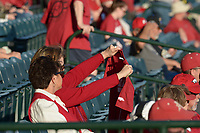 NWA Democrat-Gazette/ANDY SHUPE<br /> Arkansas Kentucky Friday, March 16, 2018, during the inning at Baum Stadium in Fayetteville. Visit nwadg.com/photos to see more photographs from the game.