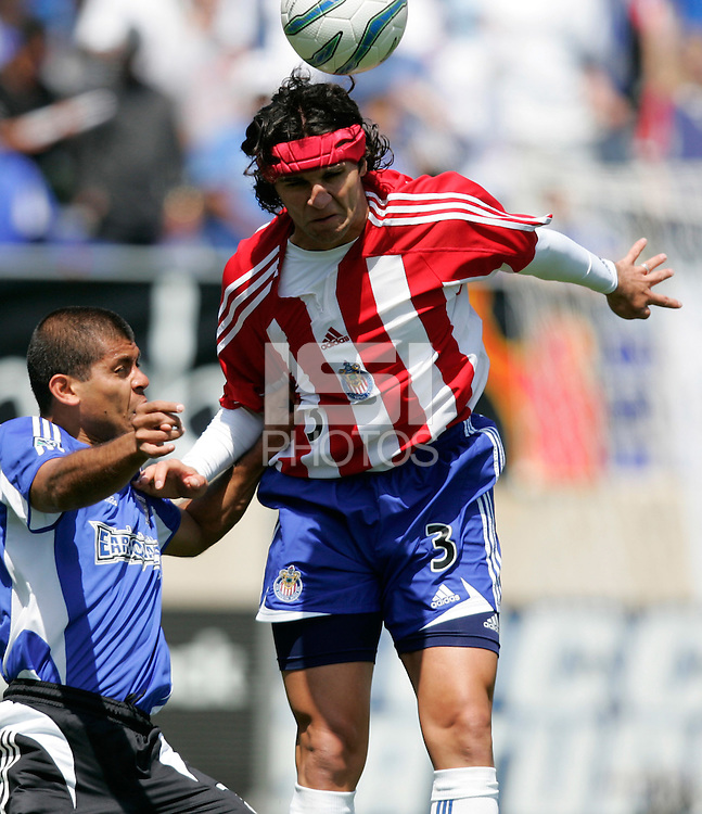 4 June 2005: Danny Califf of Earthquakes in action against DC United at Spartan Stadium in San Jose, California.  Earthquakes tied DC United, 0-0.  Credit: Michael Pimentel / ISI
