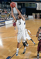 Florida International University guard-forward Dominique Ferguson (3) plays against ULM, which won the game 54-50 on January 07, 2012 at Miami, Florida. .