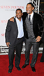 Will Smith and Alfonso Ribeiro at the premiere of Seven Pounds held at Mann Village Theater Westwood, Ca. December 16, 2008. Fitzroy Barrett