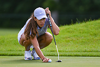Maria Fassi (MEX) looks over her putt on 11 during the round 1 of the KPMG Women's PGA Championship, Hazeltine National, Chaska, Minnesota, USA. 6/20/2019.<br /> Picture: Golffile | Ken Murray<br /> <br /> <br /> All photo usage must carry mandatory copyright credit (© Golffile | Ken Murray)