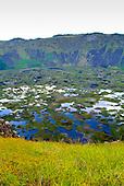 Cratère de Rano Raraku