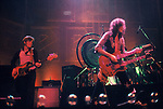 LED ZEPPELIN, John Paul Jones, Jimmy Page Photo by Joel Peskin/eRockPhotos.com