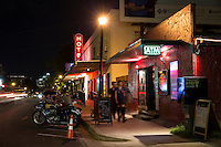 East Austin's East Cesar Chavez Neighborhood district offers entertaining with eclectic bars and restaurants with ethnic flare and artistic energy.