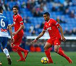 Luis Muriel, RCD Espanyol 0 v 3 Sevilla FC, Jornada 20, RCDE Stadium, La Liga Santander 2017/2018. Barcelona. Photo Martin Seras Lima