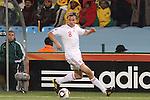 19 JUN 2010: Jesper Gronkjaer (DEN). The Denmark National Team defeated the Cameroon National Team 2-1 at Loftus Versfeld Stadium in Tshwane/Pretoria, South Africa in a 2010 FIFA World Cup Group E match.