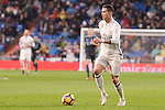 Real Madrid's Cristiano Ronaldo during La Liga match between Real Madrid and Real Sociedad at Santiago Bernabeu Stadium in Madrid, Spain. January 29, 2017. (ALTERPHOTOS/BorjaB.Hojas)