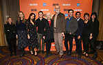 "Carole Rothman, Bess Wohl, Ashley Park, Ben McKenzie, Jane Alexander, James Cromwell, Michael Urie, Maulik Pancholy, Priscilla Lopez and Leigh Silverman during the Second Stage Theater presents ""Grand Horizons"" at the Marquis Hotel on December 11, 2019 in New York City."